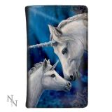 Lisa Parker - Sacred Love unicorns - wallet/purse